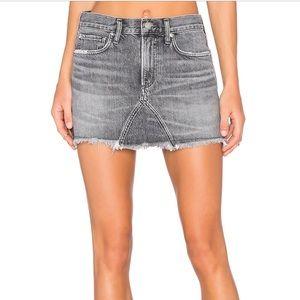 AGOLDE Serena jean skirt